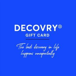 DECOVRY Gedruckte Geschenkkarte