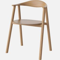 Swing Dining Chair | Lackierte Eiche