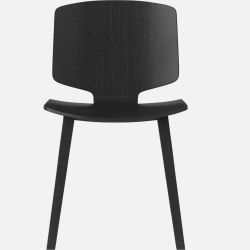 Valby Dining Chair | Black Lacquered Oak