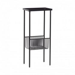 Console Table Metal | Matt Black
