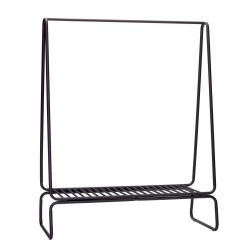 Clothes Rack 122x59xh154cm | Black
