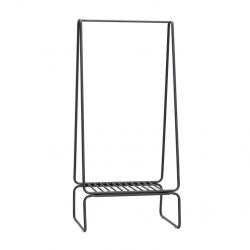 Clothes Rack 60x72xh157cm | Black