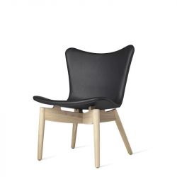 Shell Lounge Chair | Ultra Schwarz