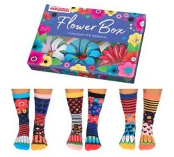 Socken Flower Box | 6er-Satz