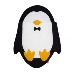 Sleeping Bag Penguin 1-18m | Black/White