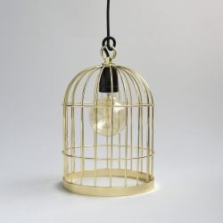 Bird Cage Gold Cable Black