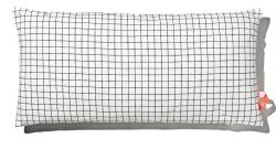 Cushion 40x80cm Black & White - Squared
