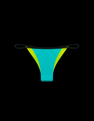 Tryangle Bas de Bikini | Bleu