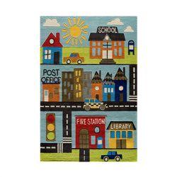 Teppich | Town Scene