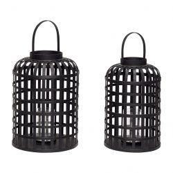 Lantern Bamboo | Set of 2