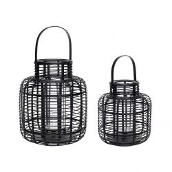 Lantern Bamboo Small | Set of 2