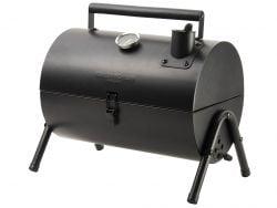Holzkohle-BBQ-Grill-Raucher | Schwarz