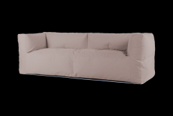 Couch 3-Seat | PINKoddy Dark