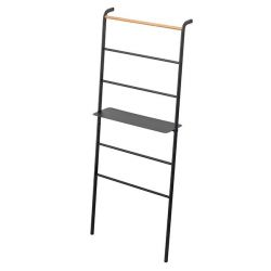 Ladder Hanger Wide with Rack Tower | Black