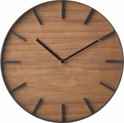 Wall Clock Rin | Brown