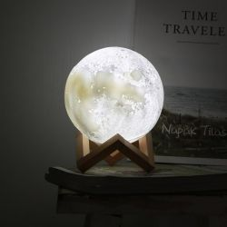 Lampe Lune 3D