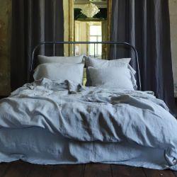 Steinwaschbare Bettdecke | Taupe