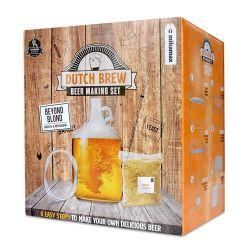 Niederländisches Brauerei-Bierset | Blondes Bier