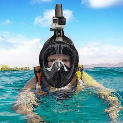 Full Face Snorkel Mask | Black