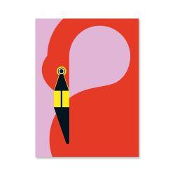 Affiche | Flamant