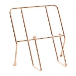 Cookbook Stand with Copper Finish