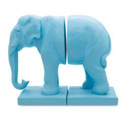 Buchstütze Elefant | Blau