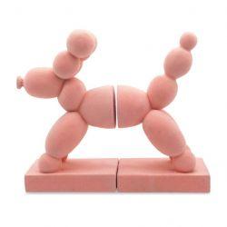 Buchstütze Ballonhund