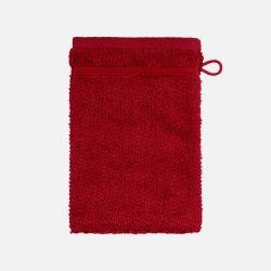 Waschhandschuh mit Perlenstruktur 6-teiliges Set | Rubin