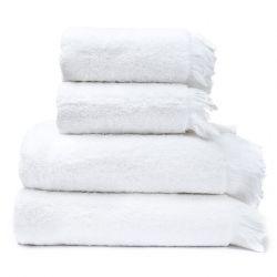 4er-Set Handtücher | Weiß