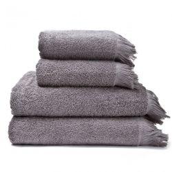 4er-Set Handtücher | Grau