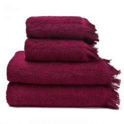 Set of 4 Towels | Red
