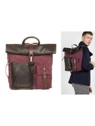 Backpack Men | Brown Purple