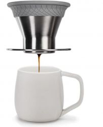 Bloom Pour Over Coffee Maker | Stainless Steel