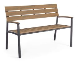 Outdoor Bench Isak | Aluminium
