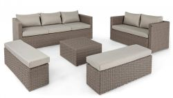 Lounge-Set Platea | Beige