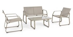 Lounge Set Axten | Taupe