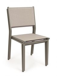 Outdoor Chair Hilde | Taupe