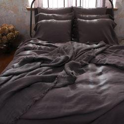 Steinwaschbare Bettdecke | Stahlgrau
