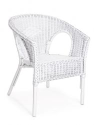 Outdoor Armchair Alliss | White
