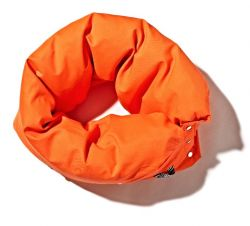 Chain Cushion Orange