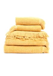 Set of 8 Towels | Gold