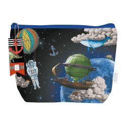 Kinder Kulturtasche Space
