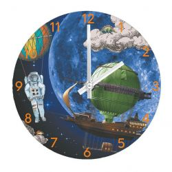 Kids Wall & Table Clock Space