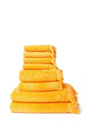 Set of 8 Towels | Carrot