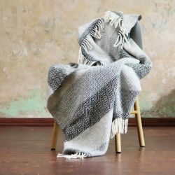 Valentino Wool Throw | Grey