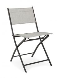 Outdoor Folding Chair Martinez | Light Grey