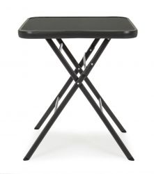 Outdoor Folding Table Martinez | Black