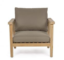 Outdoor Armchair with Cushion Ximena