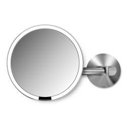 Spiegel Sensor met Wandbevestiging USB | Zilver