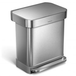 Treteimer Liner Pocket   30 L   Silber